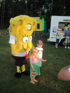 Kids love SpongeBob!