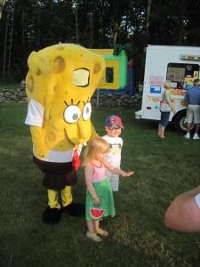 Kids love SpongeBob!