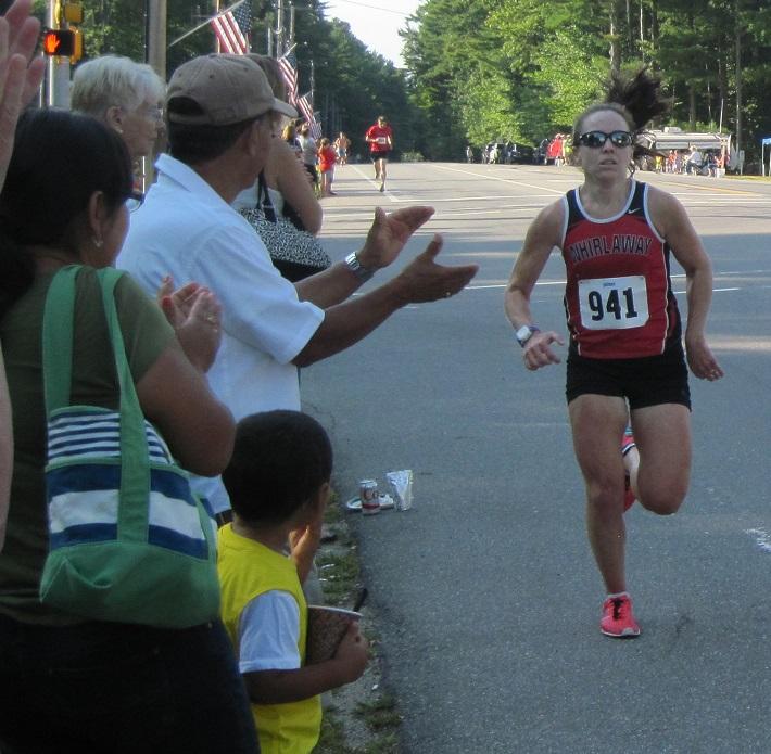 Women's Winner Amy Bernard